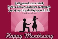 Monthsary Messages Tagalog