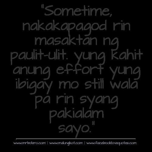 Nakakapalove Moving On Tagalog Quotes_