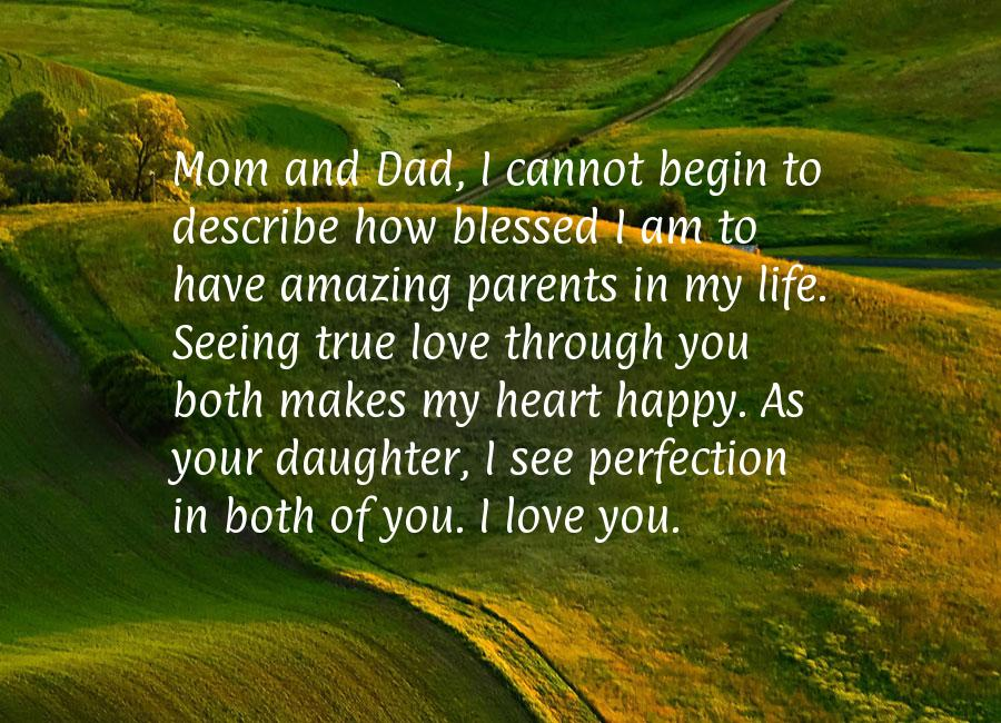 Parents Anniversary Quotes From Daughter Quotesgram