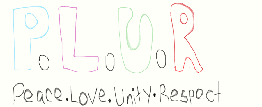 Peace Love Unity Respect By Sadiia