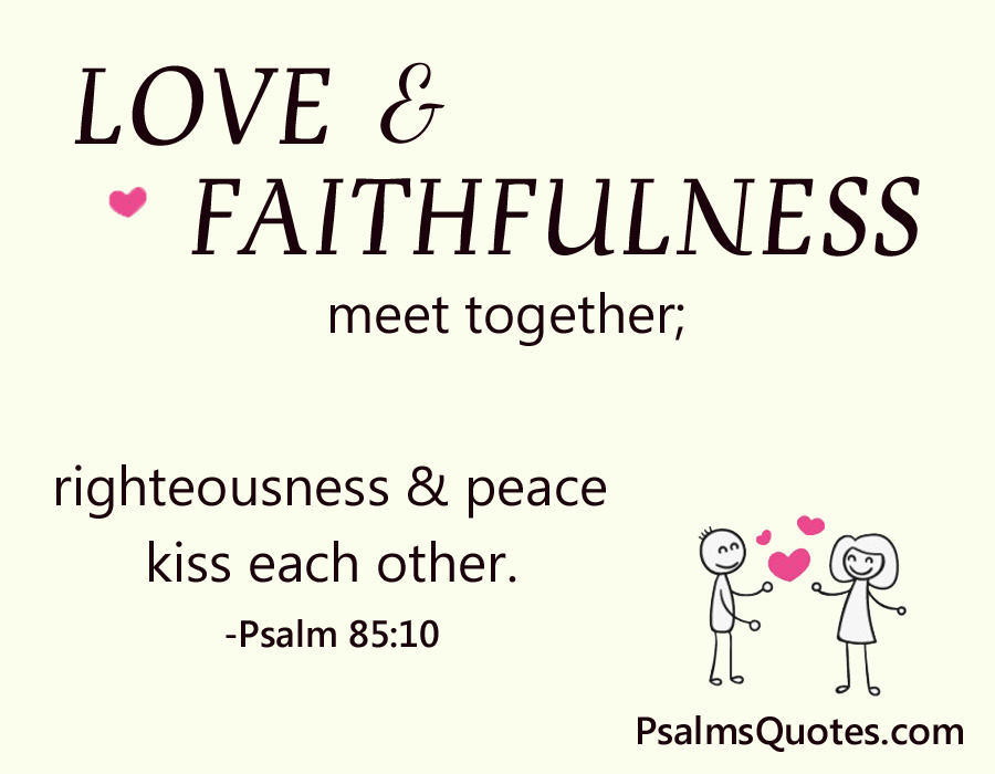 Psalm  Psalm About Love
