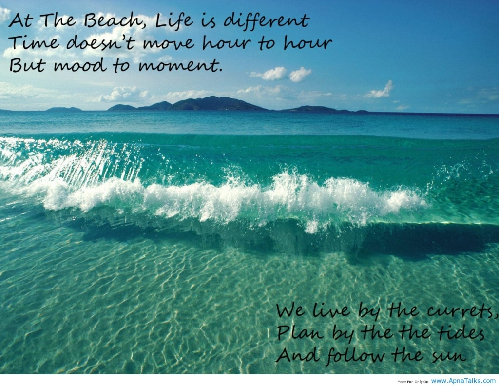 Quote About The Beach Famous Beach Sayings Beach Quotes Picture Love Quotes Best Beach