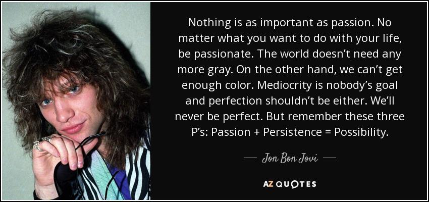 Jon Bon Jovi Quotes