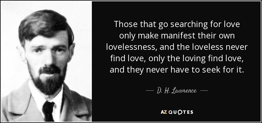 Searching For Love Quotes