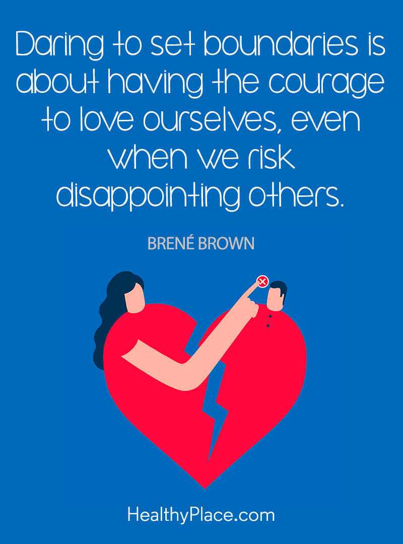 Self Improvement Quote Daring To Set Boundaries Is About Having The Courage To Love