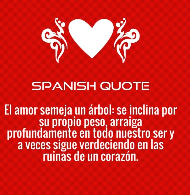 Spanish Love Quotes
