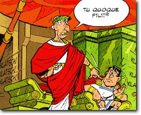 Se Beruhmten Lateinischen Worte Bei Sueton Caesar  Nachgelesen Werden Konnen Soll Julius Casar Gesagt Haben Als Er Unter Den Mordern Auch Den