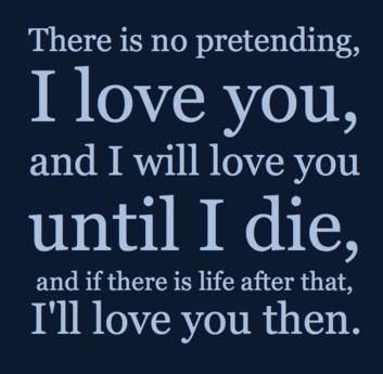 Until I Die Unique Love Quotes