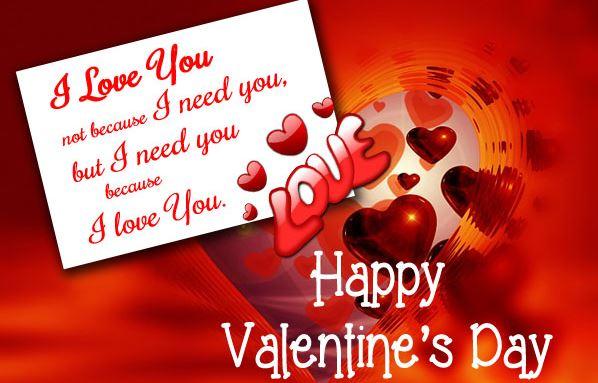 Valentine Love Messages  Valentines Message For My Husband