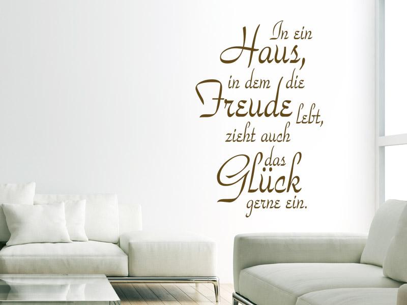 In Ein Haus In Dem Freude Lebt