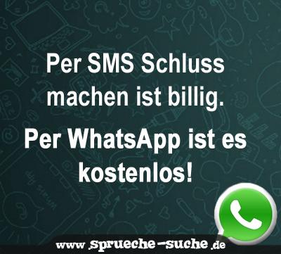 Per Sms Schluss Machen Ist Billig Per Whatsapp Ist Es Kostenlos