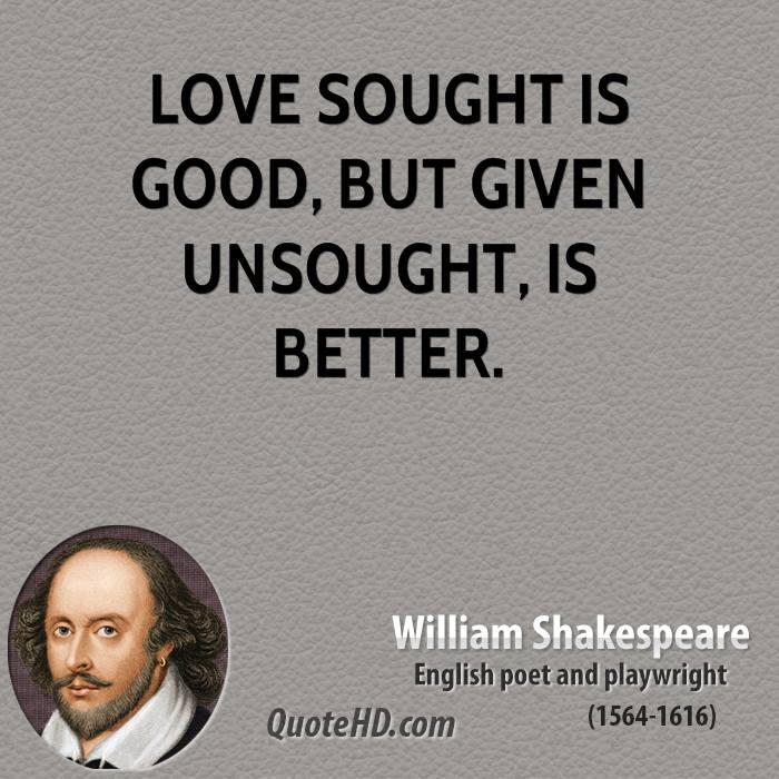 William Shakespeare Love Quotes