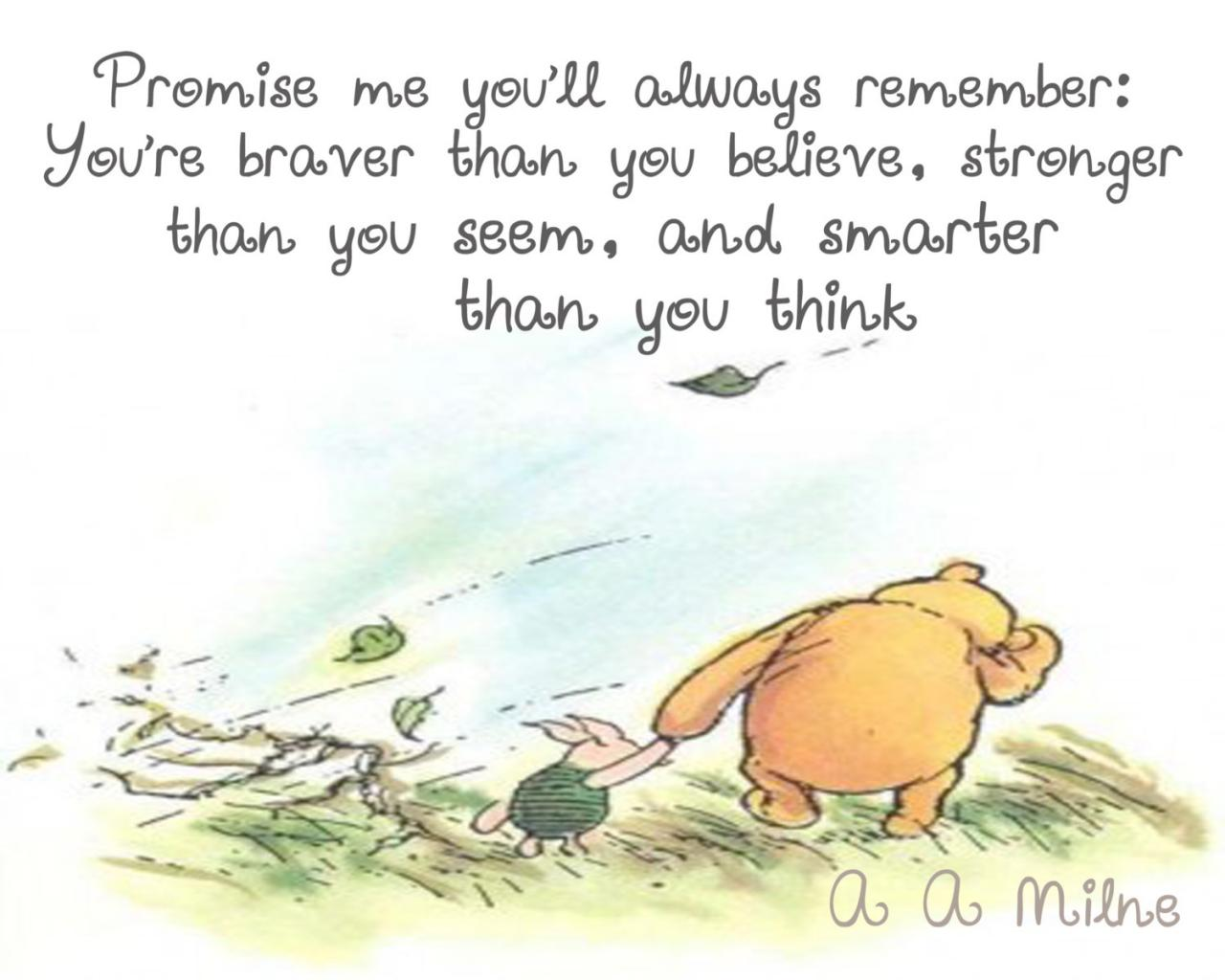 Winnie The Pooh Quotes To Live By