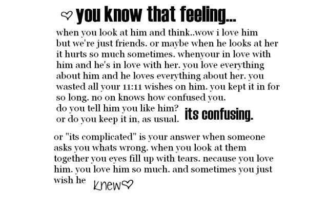 You Know That Feeling Being In Love Quote