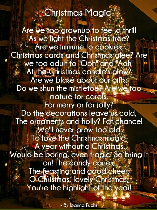 Merry Christmas Love Poems For Her And Him