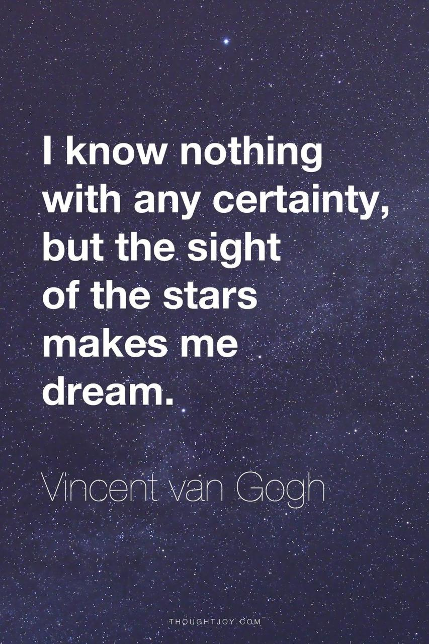 I Love This Quote And I Love Starry Night