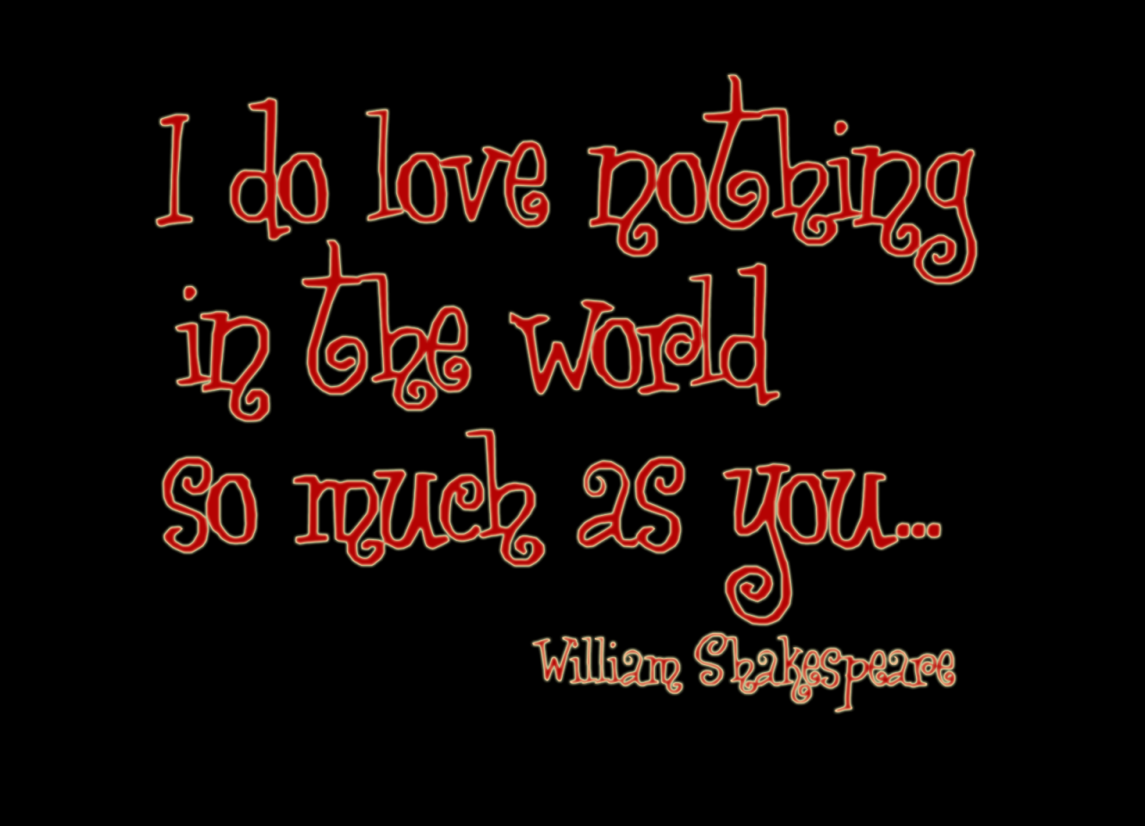 Shakespeare Love Quote At