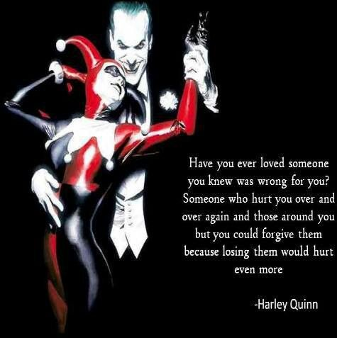 H Quinn Joker Love Quotesharley