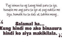Angry Quotes Tagalog Best Patama Quotes