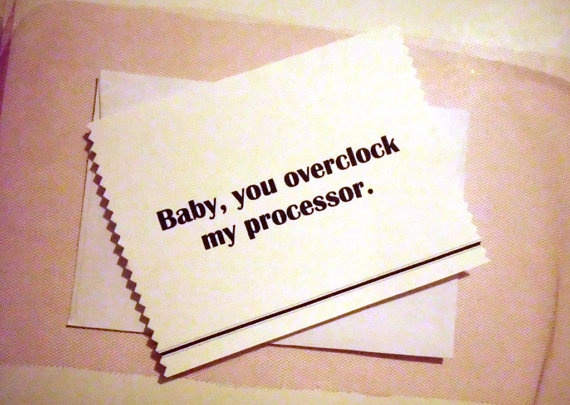 Funny Valentine Love Card Nerdy Pick Up Line By Inspirationmoveme