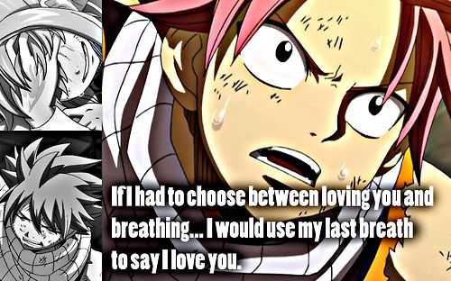 O Love Natsu So Much I Like Lusy But I Want Natsu For Me In The Anime I Preffer Nalu No Nali Find This Pin And More On Quotes