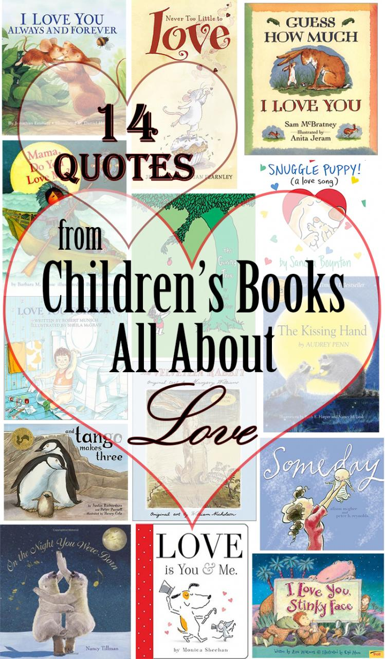 Quotes From Childrens Books All About Love