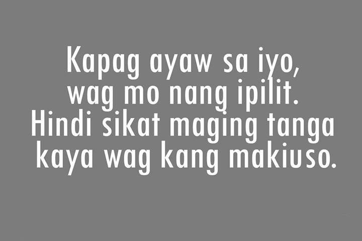 Tanga Patama Quotes Tagalog