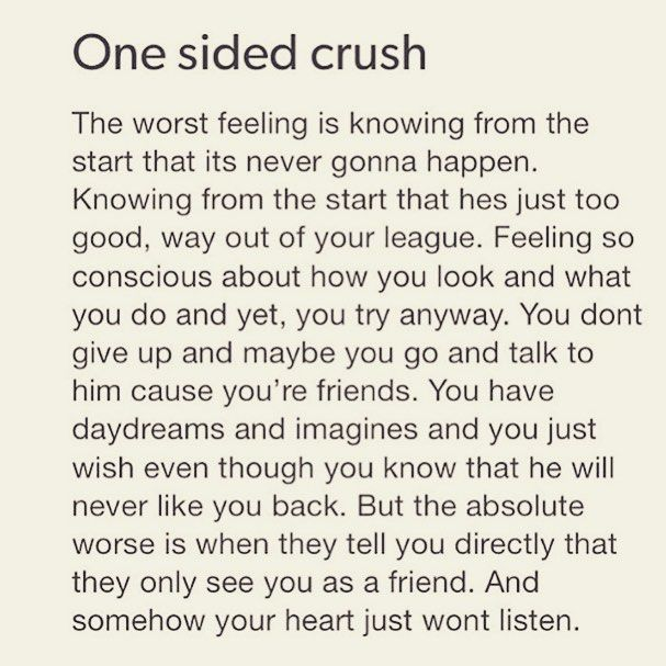 One Sided Crush