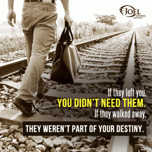 If They Left You You Dont Need Them If They Walked Away