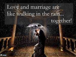 Best Wedding Quotes About Love Rain And Laughter Briff Me You