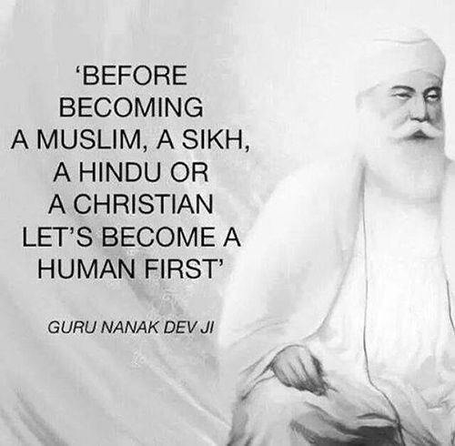 Spread Love  Before Becoming A Muslim A Sikh A Hindu Or