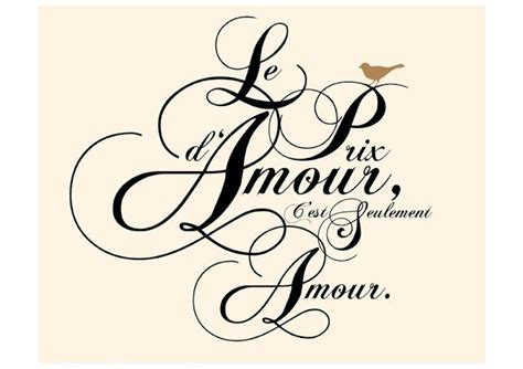 Fast Paris Love Quotes In French