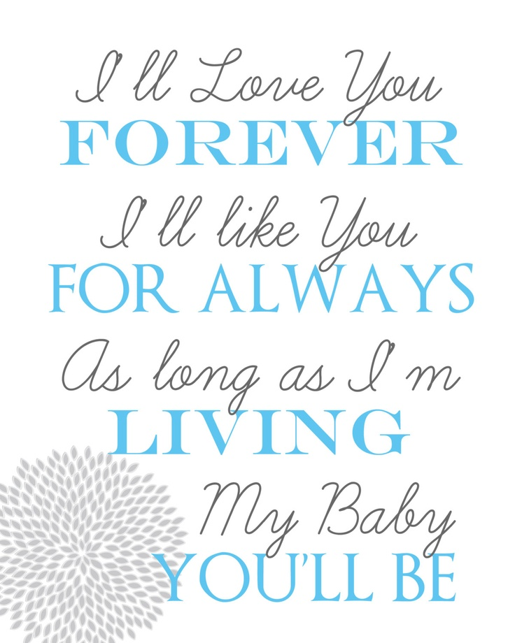 Hand Down Favorite Quote Baby Book  E D A Find This Pin And More On Love You Forever