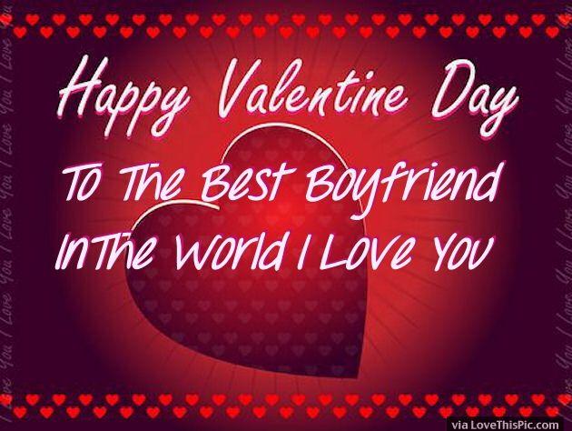 Happy Valentines Day To My Boyfriend Image Quote
