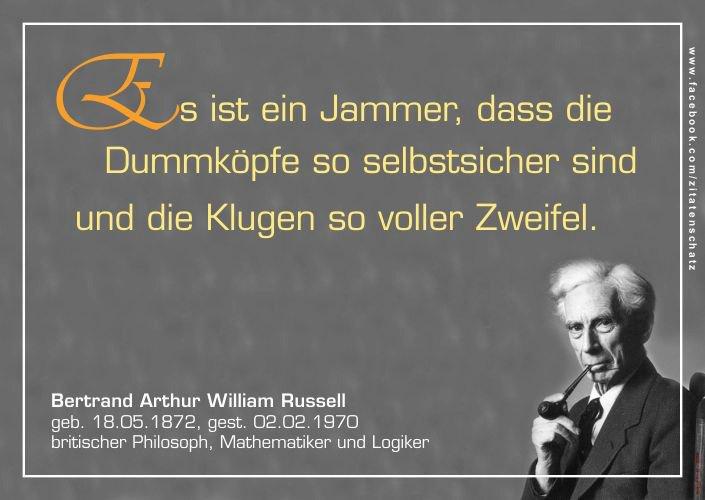 Zitat Der Woche  Russell