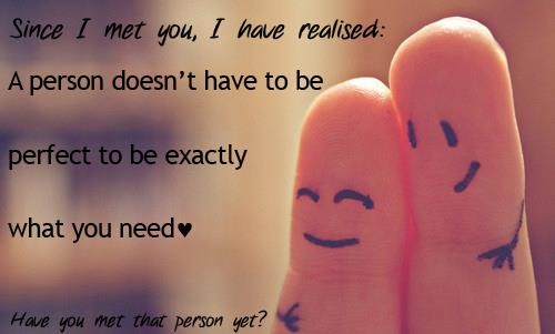 Since I Met You I Have Realised