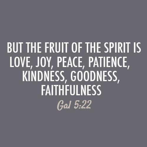But The Fruit Of The Spirit Is Love  C B Peace Quotesbible