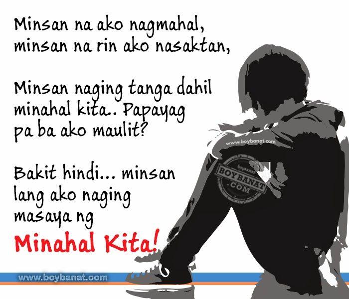Tagalog Broken Hearted Quotes And Broken Hearted Sayings Boy Banat