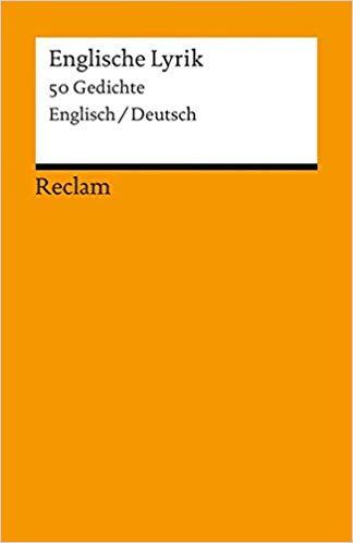 Englische Lyrik  Gedichte Zweisprachig Amazon De Raimund Borgmeier Bucher
