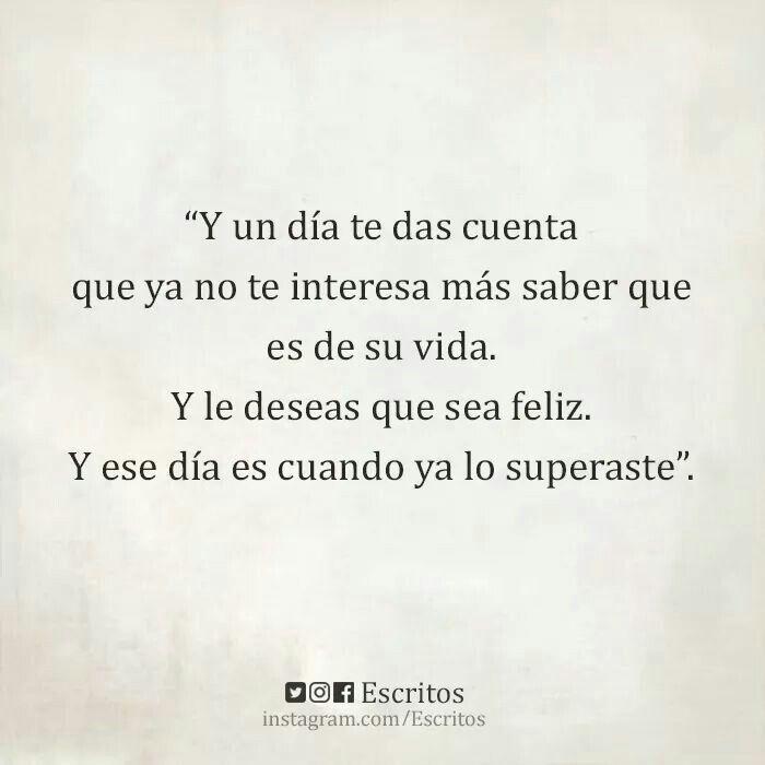 Ahi Sabras Que Lo Superaste Spanish Basicsspanish Quotesspanish Inspirational Quotesheartbreak Quotesmotivational Phraseslove Quotesdeep