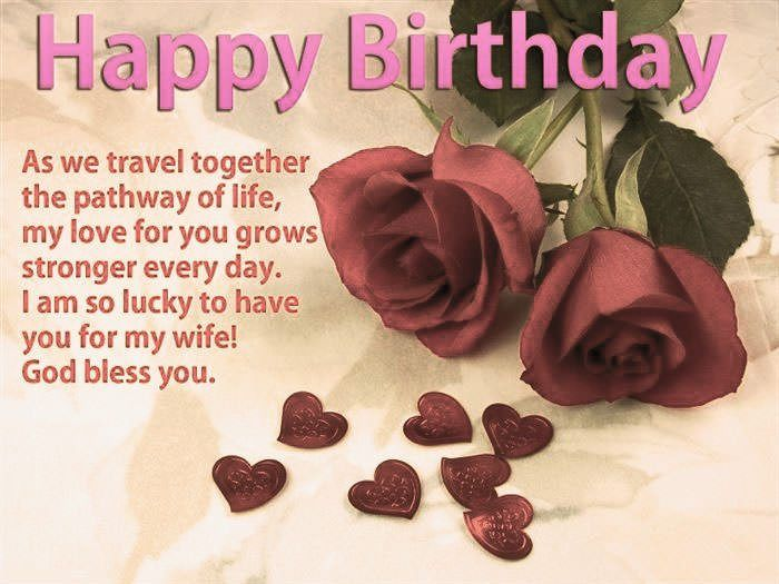 Happy Birthday Wife Wishes Quotes Messages Hey There Is It Your Lovely