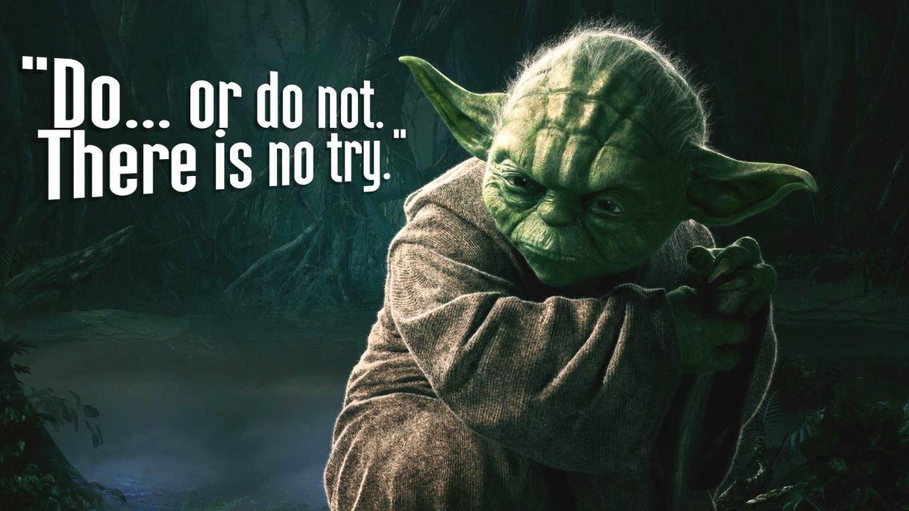 Yoda Do Or Do Not Hd Wallpaper