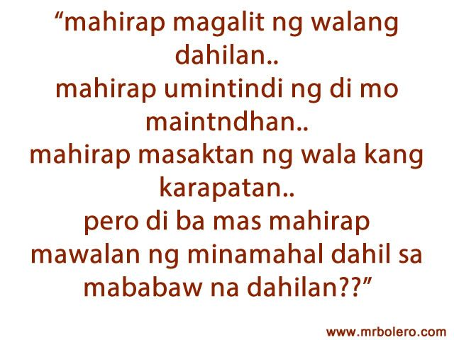 Tagalog Quotes Tagalog Love Quotes Collection Pick Up Lines Via Relatably