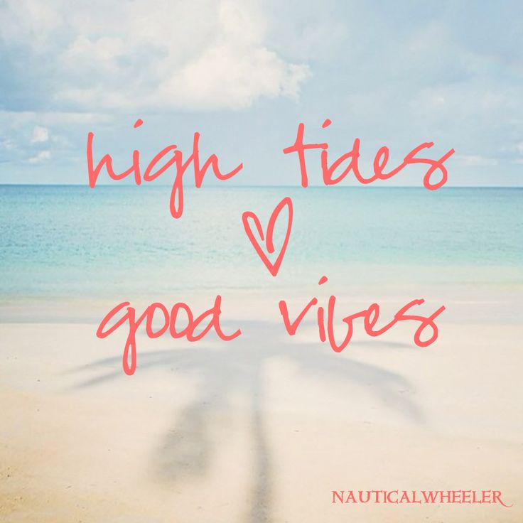 High Tides Good Vibes