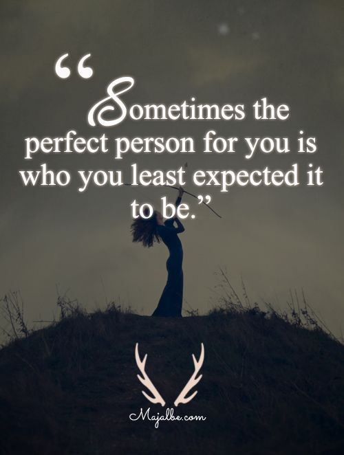 Expect The Unexpected Love Quotes Http Itz My Com