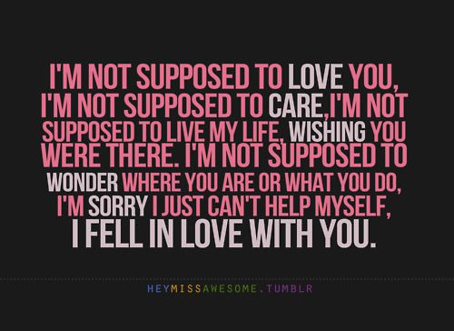 Im Sorry I Love You Quotes Tumblr I Love You I Miss You I You Quotes For You
