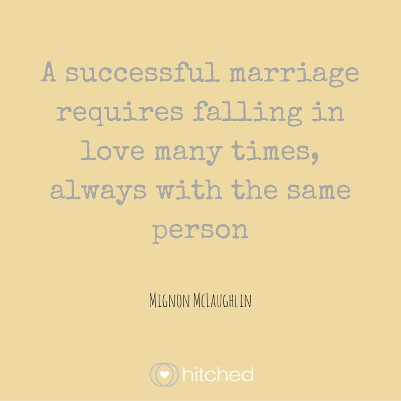 Mignon Mclaughlin Quote About Marriage