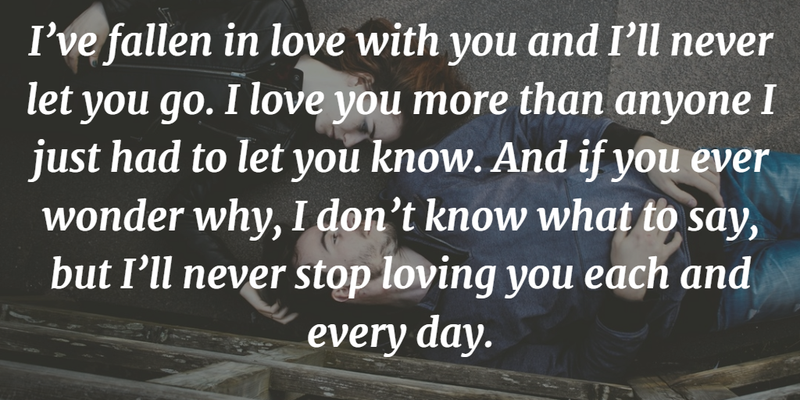The Most Touching Quotes To Tell I Love You So Much