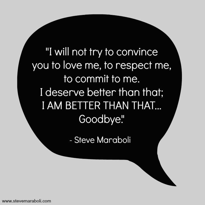 I Will Not Try To Convince You To Love Me To Respect Me To