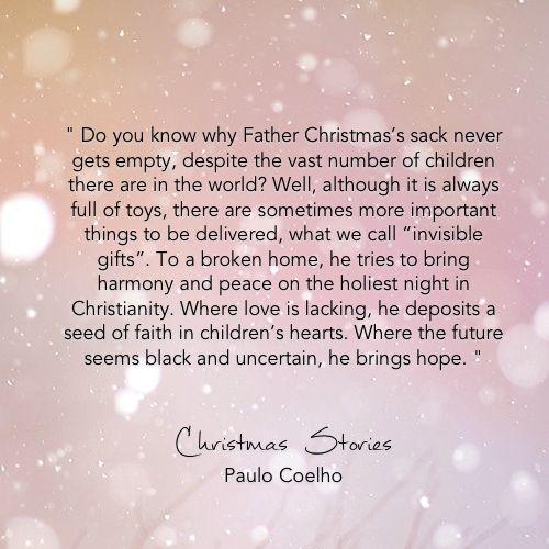 Weihnachten Weihnachten Englische Zitate Massage Introvertiert Weisheitsworter Paulo Coelho Gefuhle